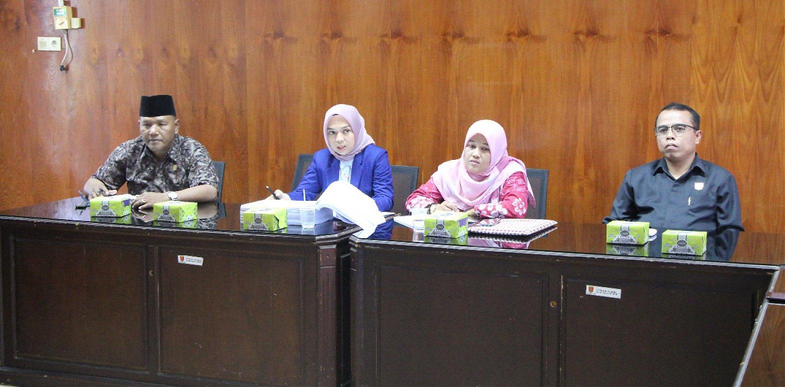 Bahas Renja TA 2020, Komisi III DPRD Undang Mitra