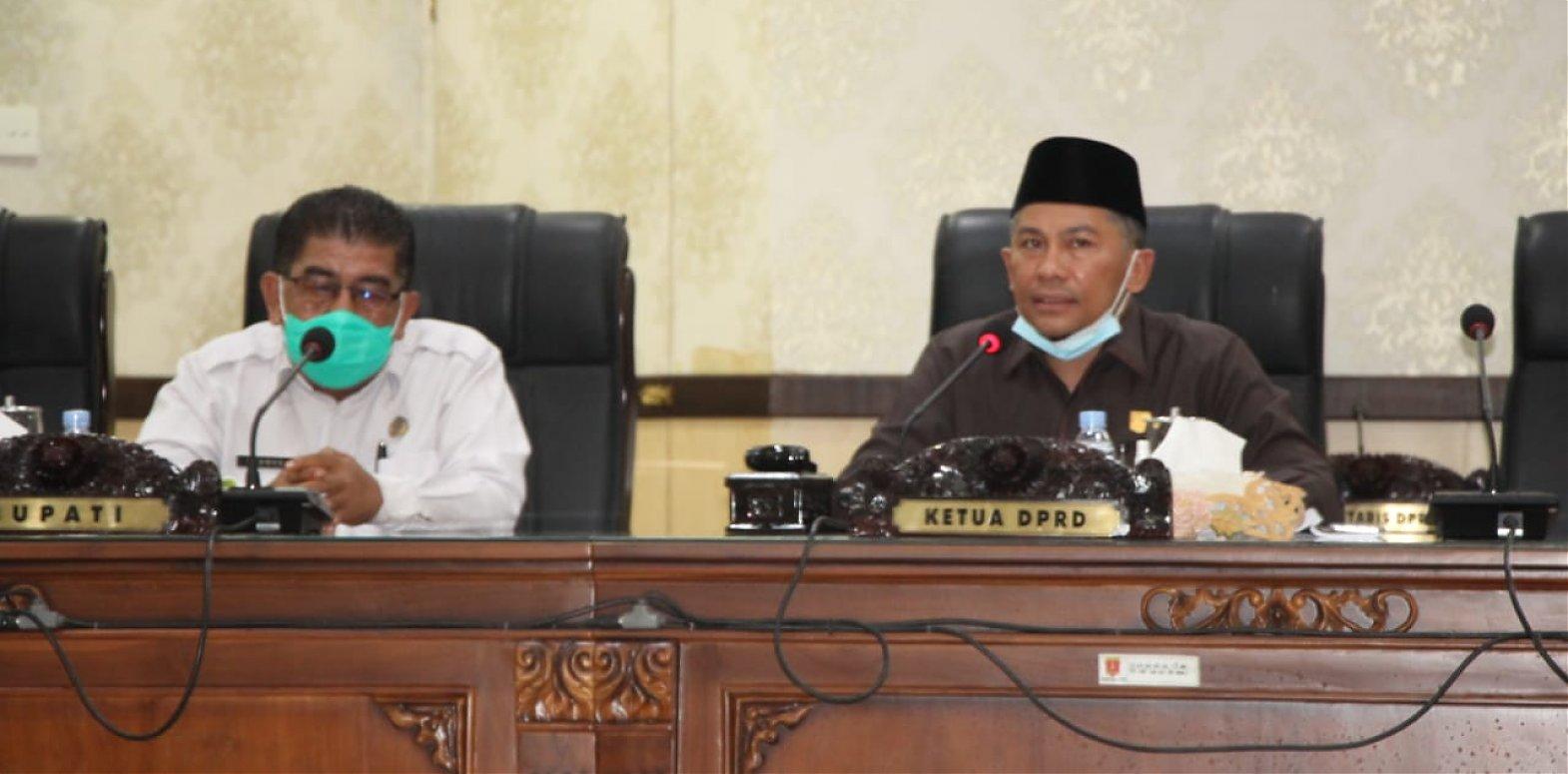 DPRD Agam Gelar Rapat Paripurna Tutup Masa Sidang Tahun 2020 Sekaligus Pembukaan Masa Sidang Tahun 2021