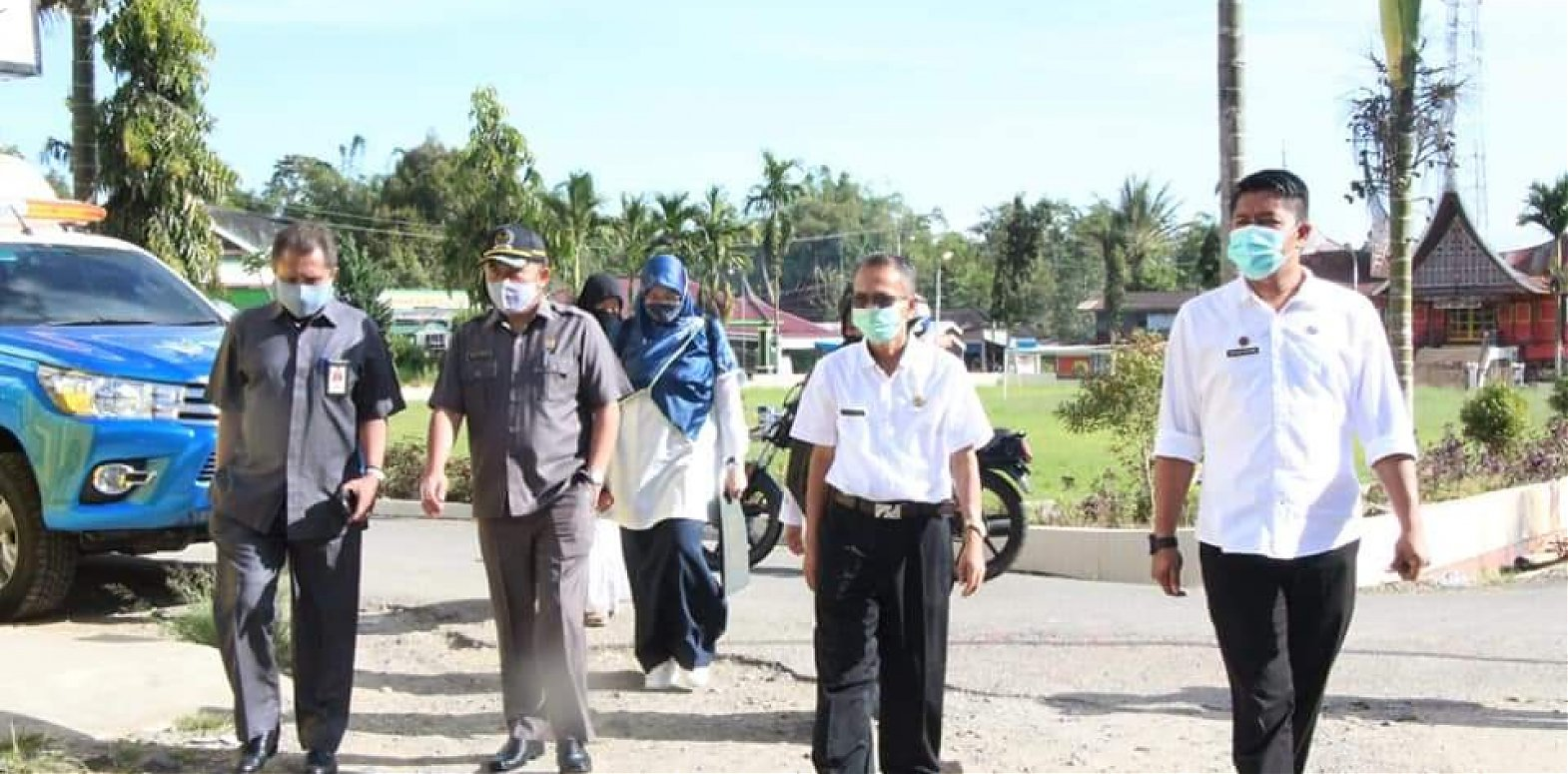 Masuki PBM Tatap Muka, Ketua DPRD Agam  Lakukan Monitoring di 2 Kecamatan Di Kabupaten Agam