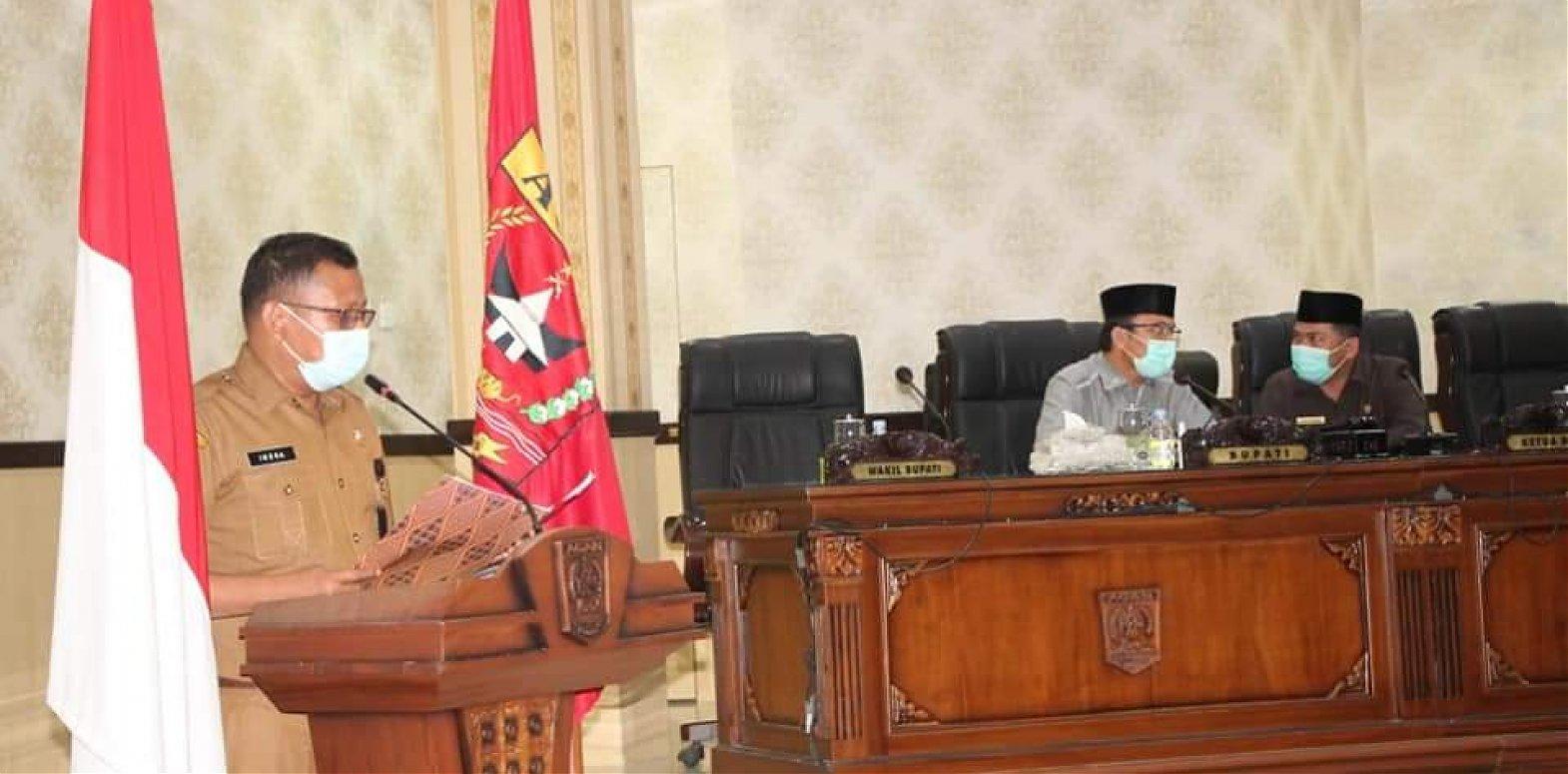 Masa Jabatan Bupati dan Wakil Bupati  Agam periode  2016-2021 Berakhir, DPRD Gelar Paripurna Pengusulan Pemberhentian