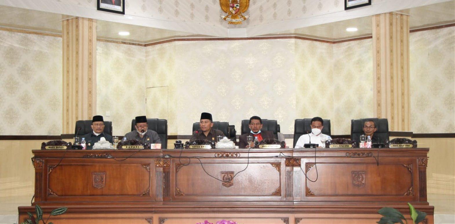 DPRD Agam Gelar Rapat Paripurna Pidato Perdana Bupati
