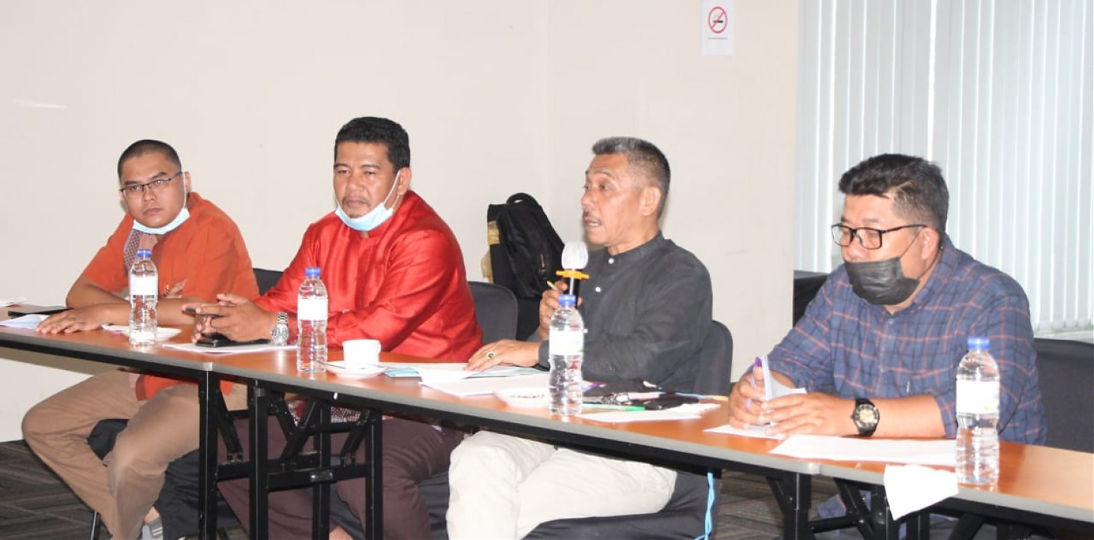 Bapemperda Gelar Rapat Pembahasan Ranperda Inisiatif