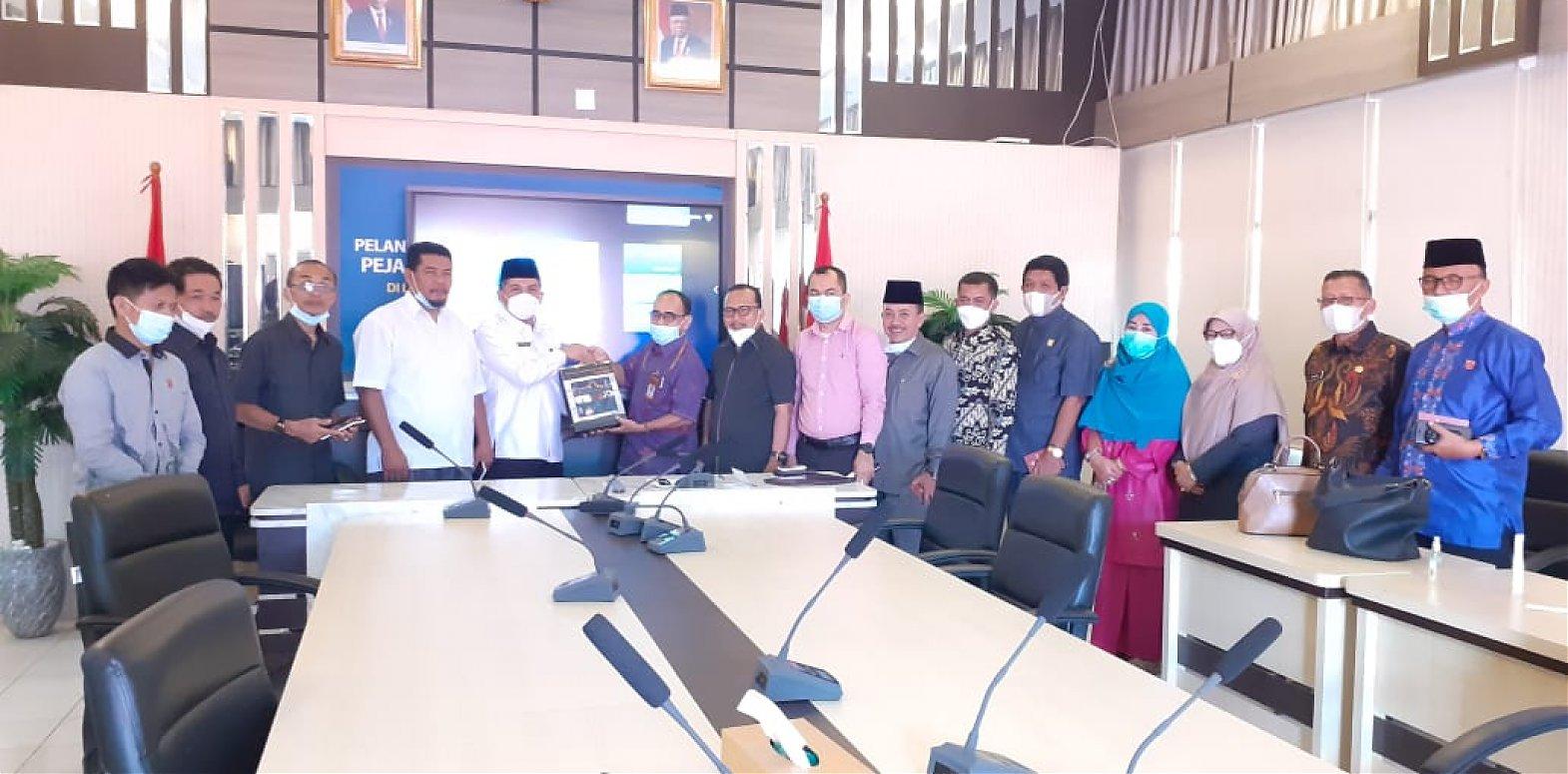 Komisi IV DPRD Agam Silaturrahmi ke BPCB Sumbar di Nagari Pagaruang