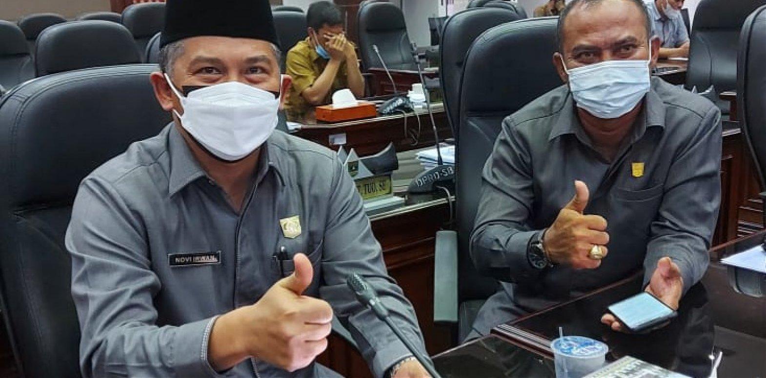 Terkait RPJMD Sumbar, Ketua DPRD Agam Dr. Novi Irwan, S.Pd. M.M Sampaikan Paparan